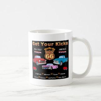 Vintage 1950s  Route 66 Coffee Mug