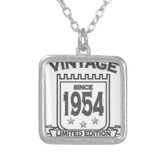 Vintage 1954 birth day limited t shirt.png pendant