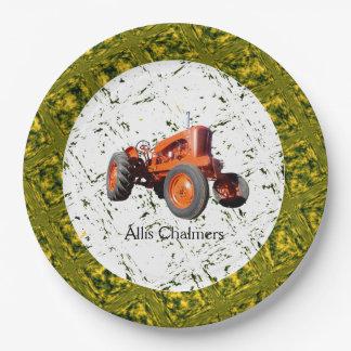 Vintage 1955 Allis Chalmers WD45 Paper Plates