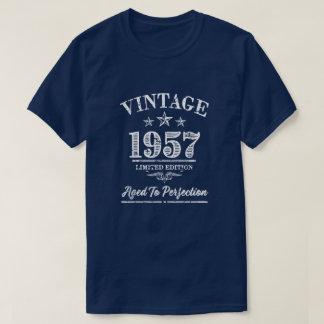 Vintage 1957 - 60th Birthday Shirt for men