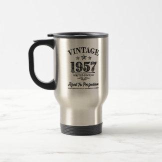 Vintage 1957 - 60th Birthday travel coffee mug
