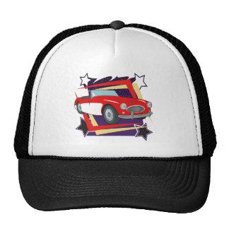 Vintage 1957 Corvette Trucker Hat