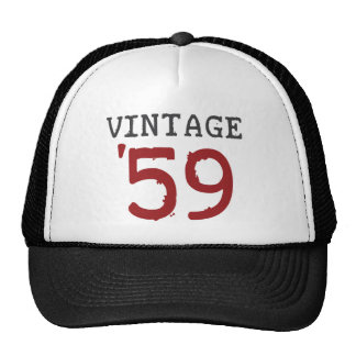 Vintage 1959 mesh hat
