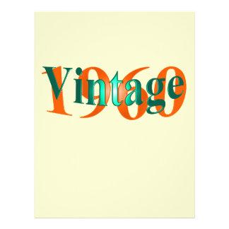 Vintage 1960 21.5 cm x 28 cm flyer