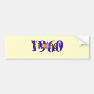 Vintage 1960 bumper sticker
