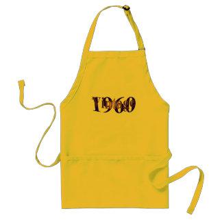 Vintage 1960 standard apron