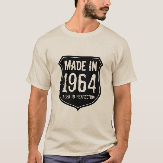 Vintage 1964 aged to perfection t shirt for