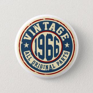 Vintage 1966 All Original Parts 6 Cm Round Badge