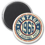 Vintage 1966 All Original Parts 6 Cm Round Magnet