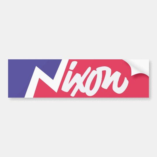 Vintage 1968 Richard Nixon Bumper Sticker