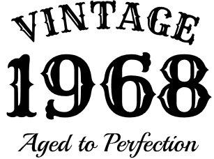 Vintage 1968 Trucker Hat For Mens 50th Birthday