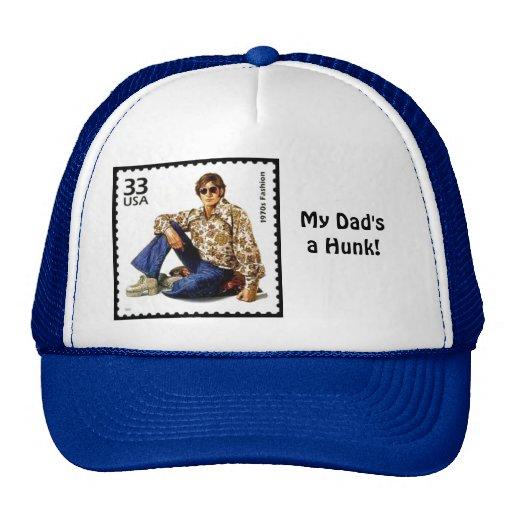Vintage 1970 Hunk Hat for Dad