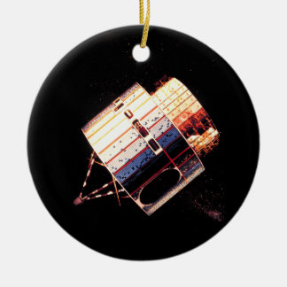 Vintage 1970's Satellite Christmas Ornament