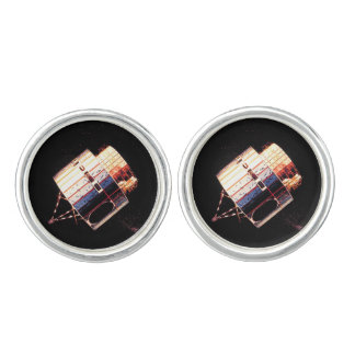 Vintage 1970's Satellite Cufflinks