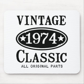 Vintage 1974 Classic Gifts Mouse Pads