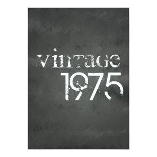 Vintage 1975 13 cm x 18 cm invitation card