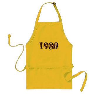 Vintage 1980 adult apron