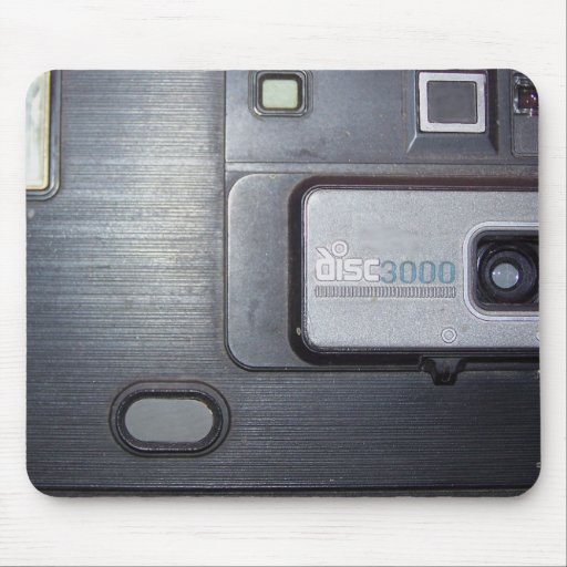 Vintage 1980s Camera Mouse Pads
