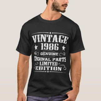 VINTAGE 1986 GENUINE ORIGINAL PARTS LIMITED T-Shirt
