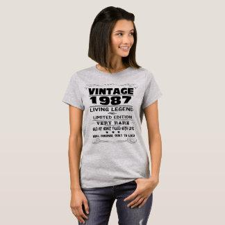 VINTAGE 1987-LIVING LEGEND T-Shirt