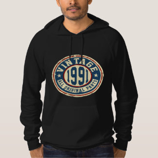 Vintage 1991 All Original Parts Hoodie