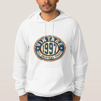 Vintage 1997 All Original Parts Hoodie