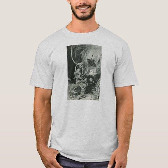 Vintage 19th Century Biologist Diver T-Shirt