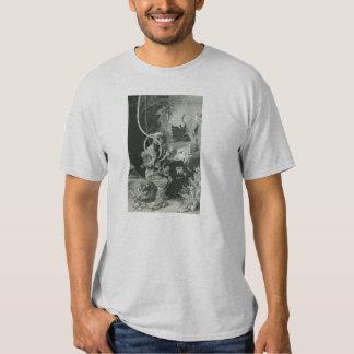 Vintage 19th Century Biologist Diver Tshirts