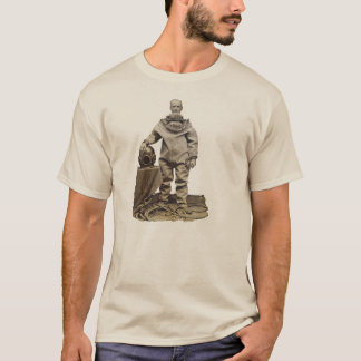 Vintage 19th Century Diver with Diving Helmet T-Shirt