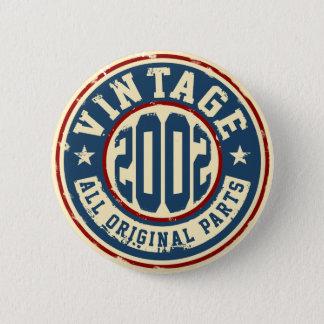 Vintage 2002 All Original Parts 6 Cm Round Badge
