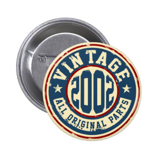 Vintage 2002 All Original Parts 6 Cm Round Badge