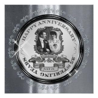 Vintage 25th Anniversary ID195