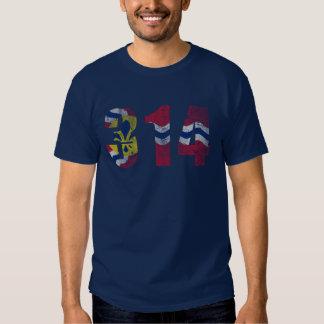 Vintage 314 St Louis Flag Missouri T-shirt