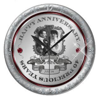Vintage 40th Anniversary ID195 Wallclock