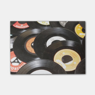 Vintage 45rpm Records Post-it Notes
