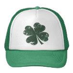 'Vintage' 4-leaf Clover Mesh Hats