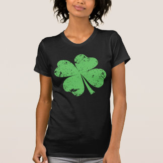 'Vintage' 4-leaf Clover T-Shirt