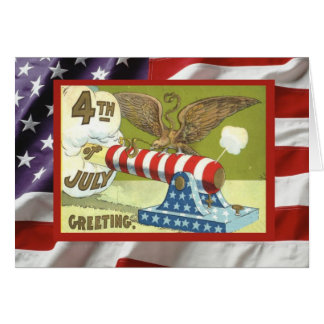 Vintage 4th July, Have a great day, Firecrackers Cards