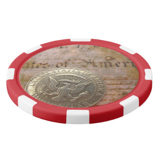 vintage 4th of july poker chips