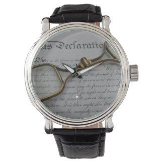 vintage 4th of july wrist watch