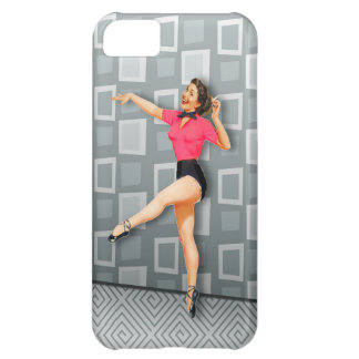 Vintage 50s Dancing Pinup Girl iPhone 5C Covers