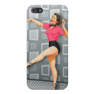 Vintage 50s Dancing Pinup Girl iPhone 5 Cover