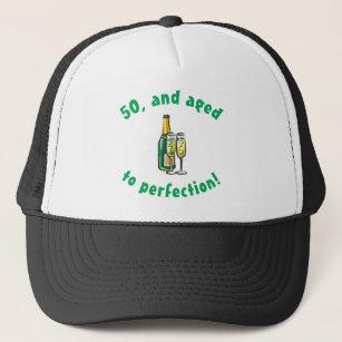 Vintage 50th Birthday Gift Trucker Hat 7b0d63c44a36