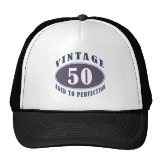 Vintage 50th Birthday Gifts For Men Cap