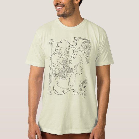 Vintage 60's Style Rock Art t-shirt