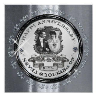 Vintage 60th Anniversary ID195