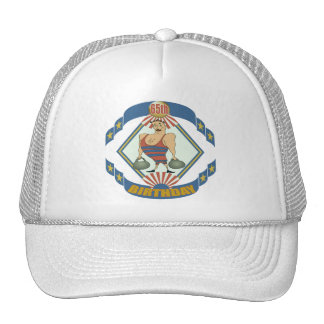 Vintage 65th Birthday Gifts Mesh Hats
