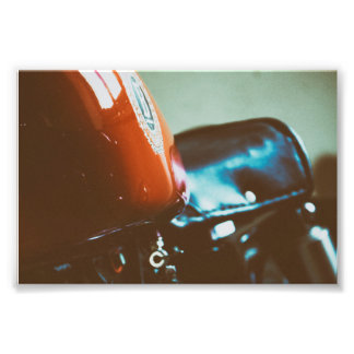 VINTAGE 70s MOTOCYCLE ITALY Photo Print