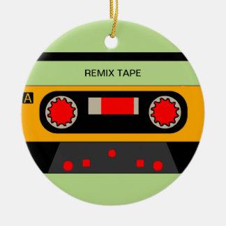 Vintage 80's Cassette Christmas Ornament