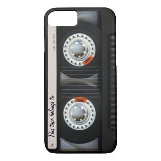 Vintage 80s Retro Music Cassette Tape Customizable iPhone 8/7 Case